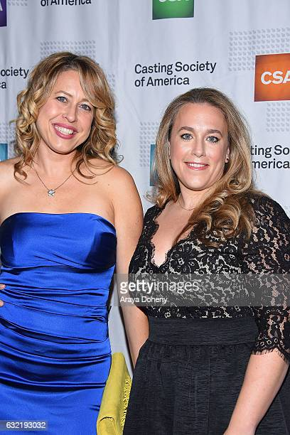Meg Mormon and Sunday Boling arrive at the 2017 Annual Artios Awards at The Beverly Hilton Hotel on January 19 2017 in Beverly Hills California