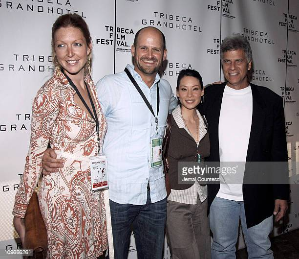 Meg Raney director Colin Gray director Lucy Liu esxecutive producer Mark Spitz narrator