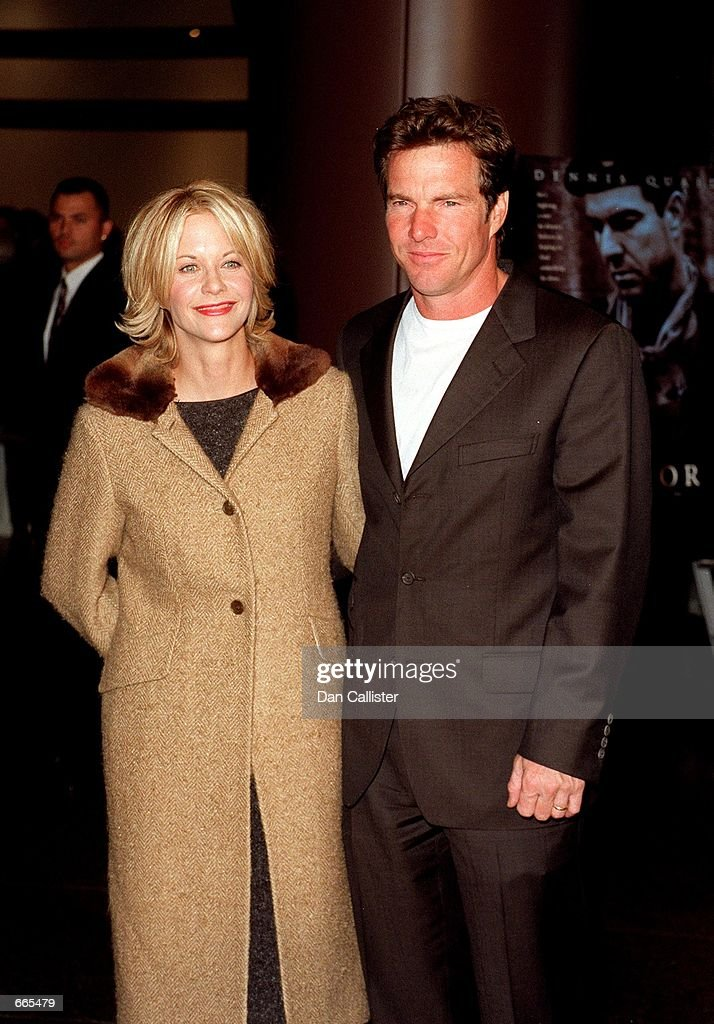 Meg Ryan and Dennis Quaid split after nine years of marriage : News Photo