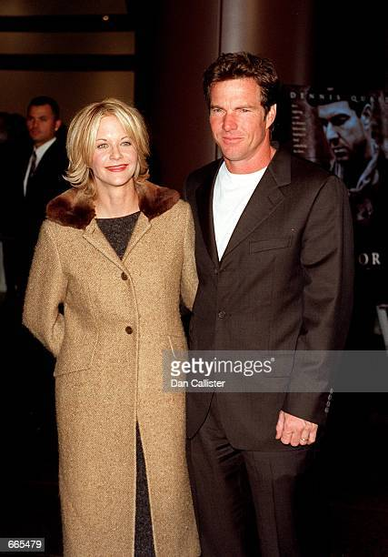 Meg Ryan and Dennis Quaid attend the premiere of Quaid's new film Savior October 27 1998 It has been reported June 29 2000 that the couple had...