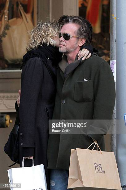 Meg Ryan and her boyfriend John Mellencamp are seen on February 14 2011 in New York City
