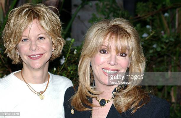 Meg Ryan and Jackie Kallen during Against the Ropes Press Conference with Meg Ryan Omar Epps Charles S Dutton and Jackie Kallen at The Four Seasons...