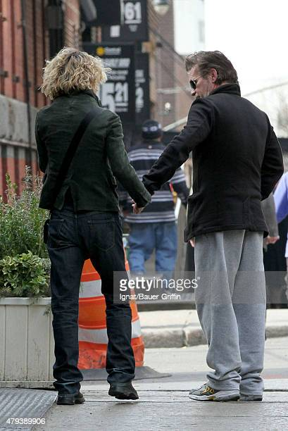 Meg Ryan and John Mellencamp are seen on February 17 2011 in New York City