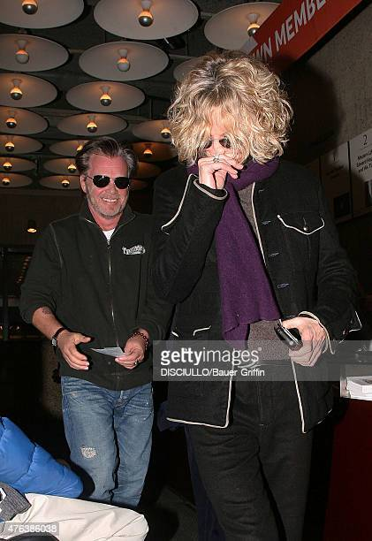 Meg Ryan and John Mellencamp are seen on January 05 2011 in New York City