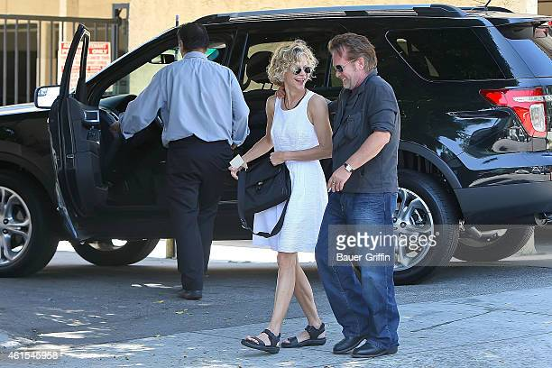 Meg Ryan and John Mellencamp are seen on July 26 2012 in Los Angeles California
