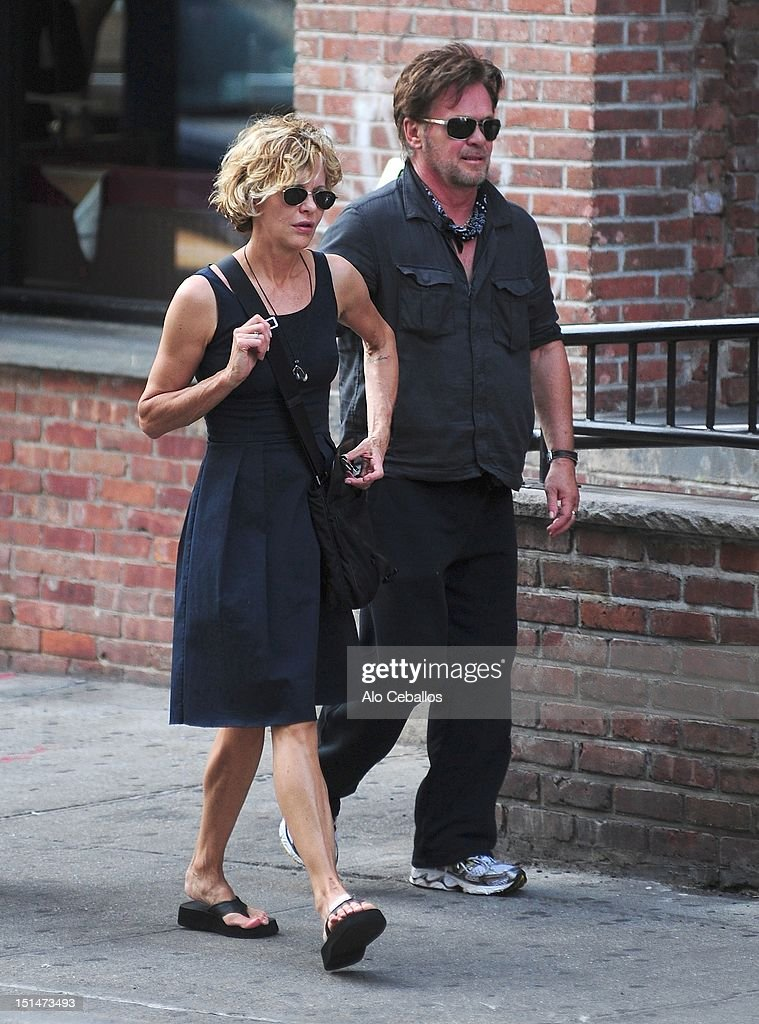 Celebrity Sightings In New York City - September 7, 2012 : News Photo