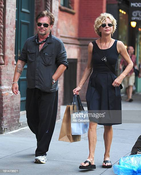 Meg Ryan and John Mellencamp are seen on September 7 2012 in New York City