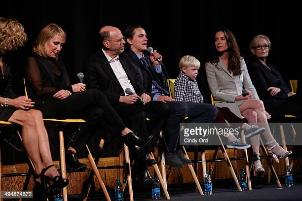 Meg Ryan and Producer Janet Brenner Executive Producer Robert Immerman Actor Alex Neustaedter actor Spencer Howell Actress Lois Robbins actress Robin...