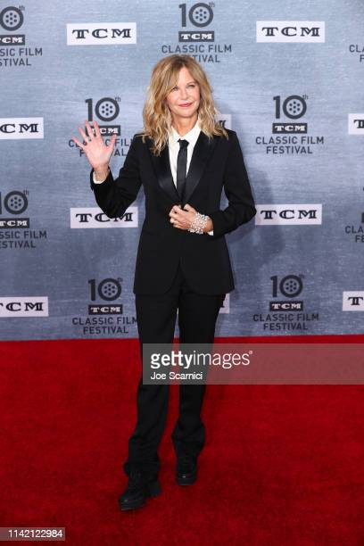 """Meg Ryan arrives at the 2019 TCM Classic Film Festival Opening Night Gala And 30th Anniversary Screening Of """"When Harry Met Sally"""" - Arrivals at TCL..."""