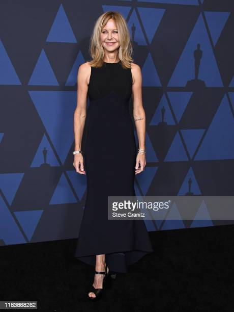Meg Ryan arrives at the Academy Of Motion Picture Arts And Sciences' 11th Annual Governors Awards at The Ray Dolby Ballroom at Hollywood Highland...