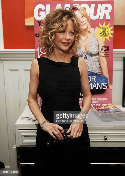 Meg Ryan at GLAMOUR Magazine's celebration of their firstever Hero Issue featuring Meg Ryan