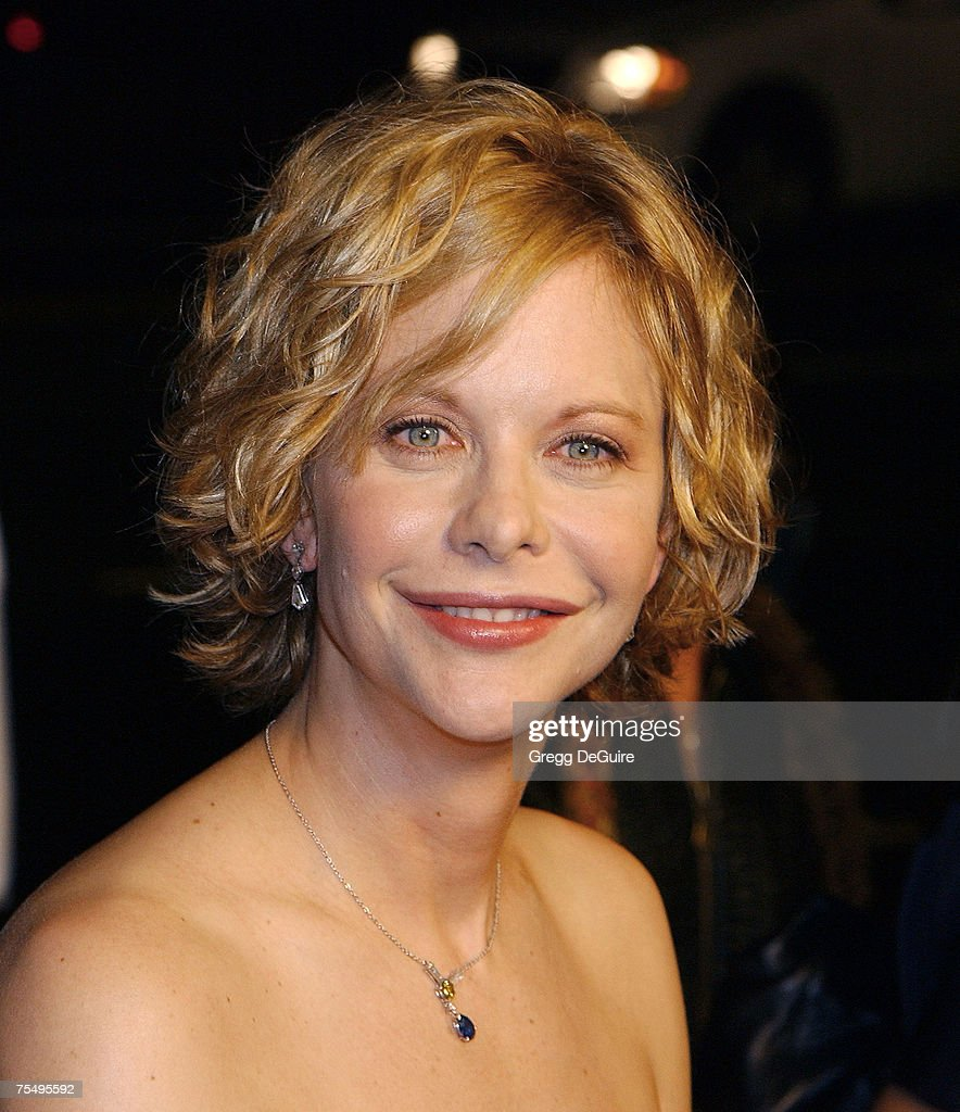 Meg Ryan at the Academy Theatre in Beverly Hills, California