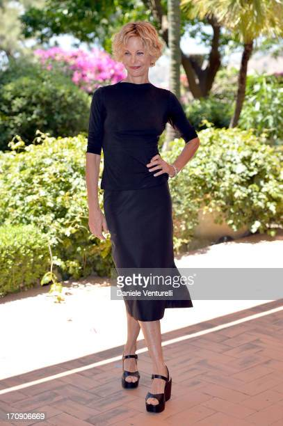 Meg Ryan attends a photocall as part of Taormina Filmfest 2013 on June 20 2013 in Taormina Italy