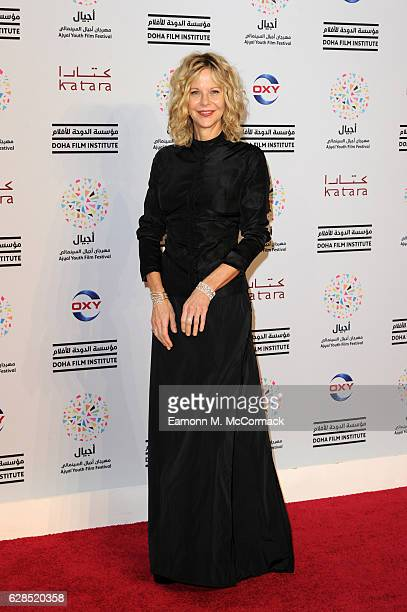 Meg Ryan attends the closing ceremony and screening of 'The Red Turtle' during the Ajyal Youth Film Festival on December 5 2016 in Doha Qatar
