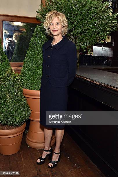 Meg Ryan attends Through Her Lens The Tribeca Chanel Women's Filmmaker Program luncheon at Locanda Verde on October 26 2015 in New York City