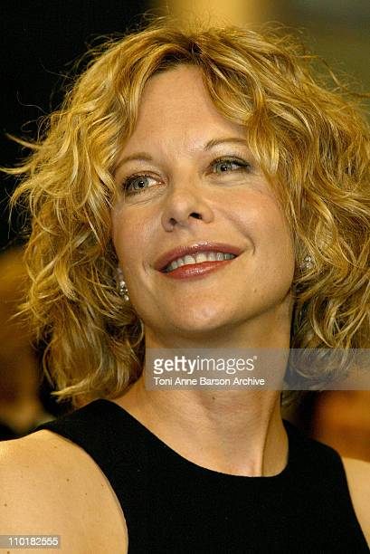 Meg Ryan during 2003 Cannes Film Festival Closing Ceremony Show at Palais des Festivals in Cannes France