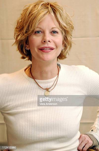 "Meg Ryan during ""Against the Ropes"" Press Conference with Meg Ryan, Omar Epps, Charles S. Dutton and Jackie Kallen at The Four Seasons Hotel in..."