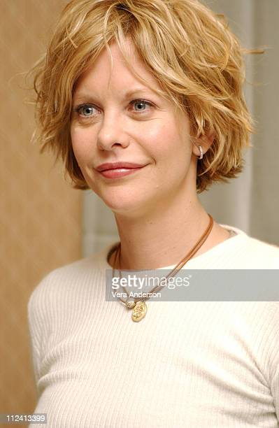 Meg Ryan during Against the Ropes Press Conference with Meg Ryan Omar Epps Charles S Dutton and Jackie Kallen at The Four Seasons Hotel in Beverly...