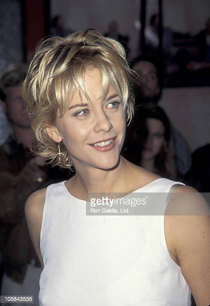 Meg Ryan during French Kiss Los Angeles Premiere at Mann Chinese Theatre in Hollywood California United States