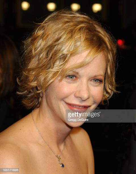 Meg Ryan during 'In The Cut' Los Angeles Premiere Arrivals at Academy Theatre in Beverly Hills California United States