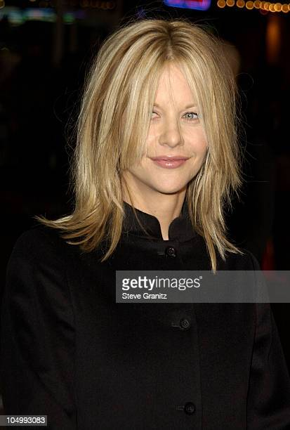 """Meg Ryan during """"Kate & Leopold"""" - Los Angeles Premiere at Bruin Theater in Westwood, California, United States."""