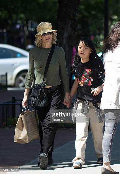 Meg Ryan is seen on June 14 2016 in New York City