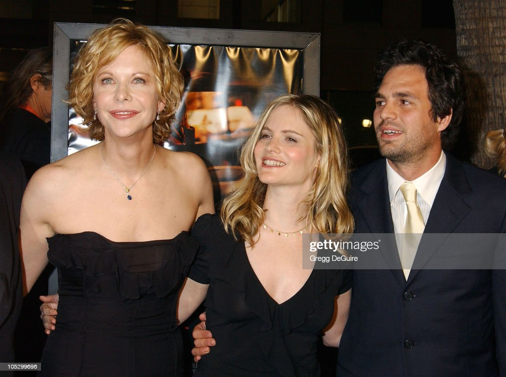 Meg Ryan, Jennifer Jason Leigh and Mark Ruffalo during 'In The Cut' Los Angeles Premiere - Arrivals at Academy Theatre in Beverly Hills, California, United States.