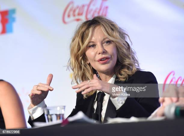Meg Ryan speaks at the 3rd Annual Bentonville Film Festival on May 4 2017 in Bentonville Arkansas
