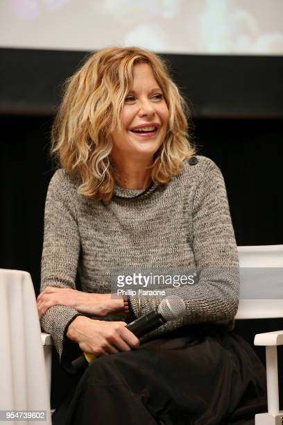 Meg Ryan speaks onstage at the 4th Annual Bentonville Film Festival Day 4 on May 4 2018 in Bentonville Arkansas
