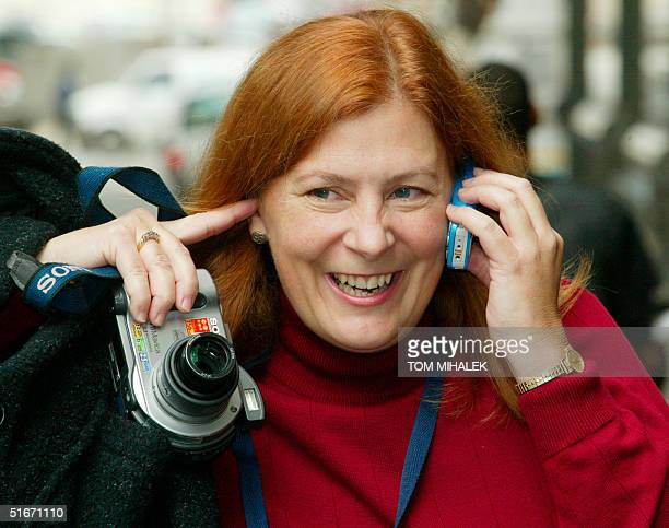 Meg Wakeman one of three sisters of Holly Maddux calls a relative on the West Coast to relay the news that Ira Einhorn was found guilty 17 October...