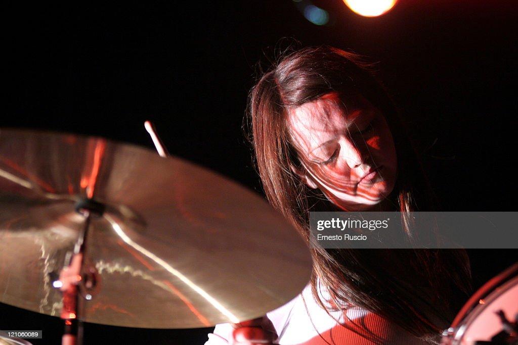 The White Stripes in Concert at Tenda Strisce Theater in Rome - June 6, 2007