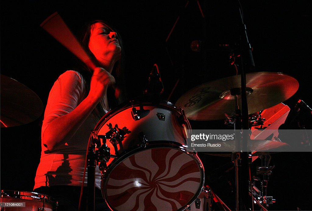 The White Stripes in Concert at Tenda Strisce Theater in Rome - June 6, 2007