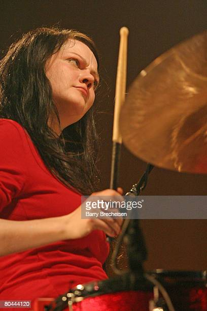 Meg White of The White Stripes