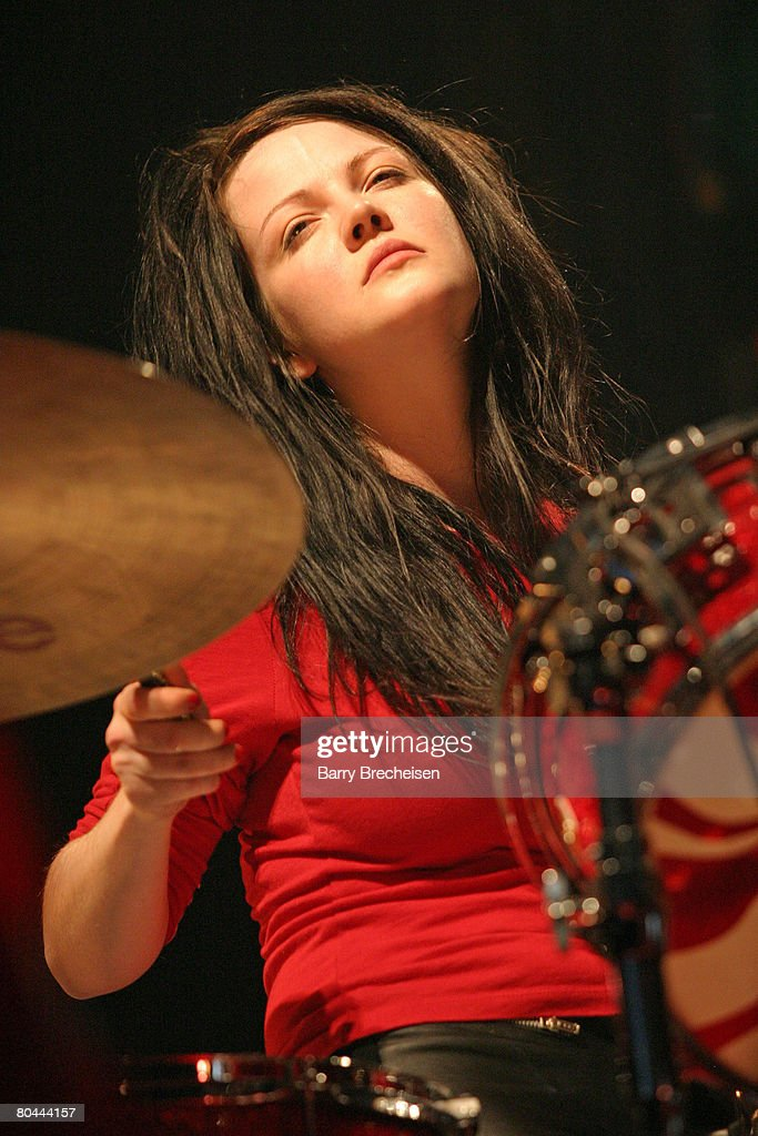 Meg White of The White Stripes