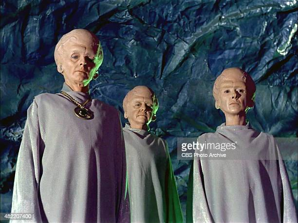 Meg Wyllie plays The Keeper Georgia Schmidt as First Talosian and Serena Sande as Second Talosian in the STAR TREK The Original Series episode The...