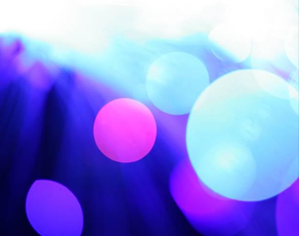 mega blue light background