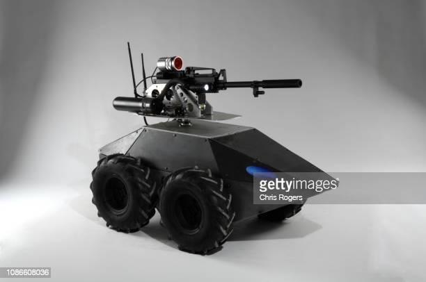 mega hurtz robot - véhicule terrestre sans pilote photos et images de collection