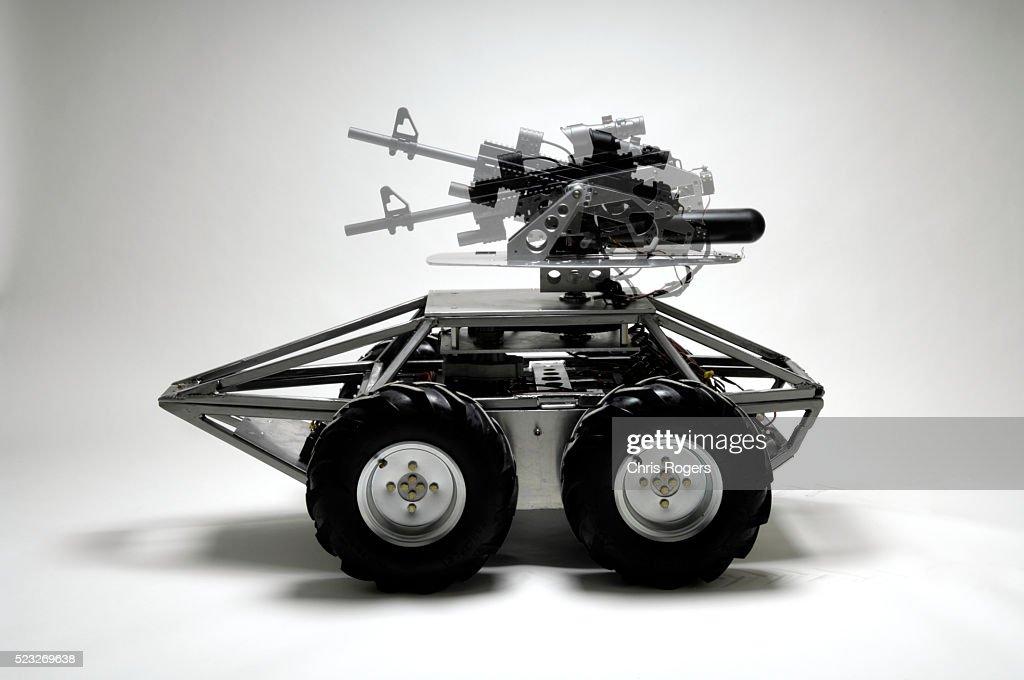 Mega Hurtz Tactical Robot Prototype. : Stock-Foto