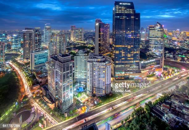 Mega Kuningan Business Districk - Jakarta Blue Hour