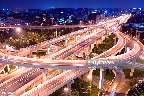 Megacity Highway in chengdu china