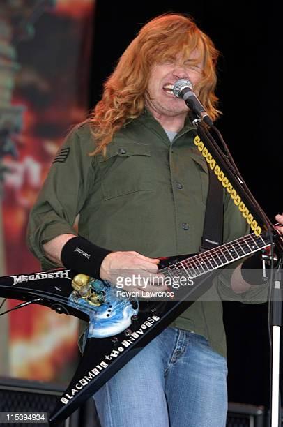 Megadeth during Download Festival 2005 Day 1 June 10 2005 at Donington Park in Castle Donington Great Britain