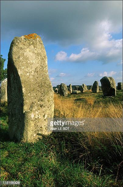 Megalithic Site in Carnac France on February 01 1999