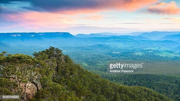 Megalong Valley and Blue Mountains National Park