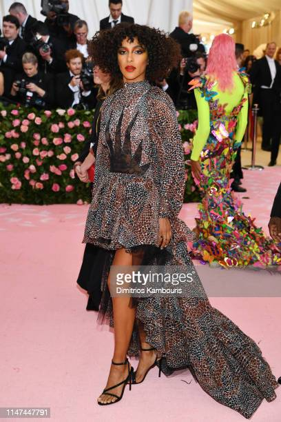 Megalyn Echikunwoke attends The 2019 Met Gala Celebrating Camp Notes on Fashion at Metropolitan Museum of Art on May 06 2019 in New York City