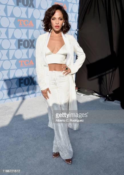 Megalyn Echikunwoke attends the FOX Summer TCA 2019 AllStar Party at Fox Studios on August 07 2019 in Los Angeles California
