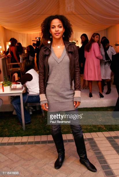 Megalyn Echikunwoke during InStyle Luxury Suites at The Four Seasons Beverly Hills Day 3 at Four Seasons Hotel in Beverly Hills California United...