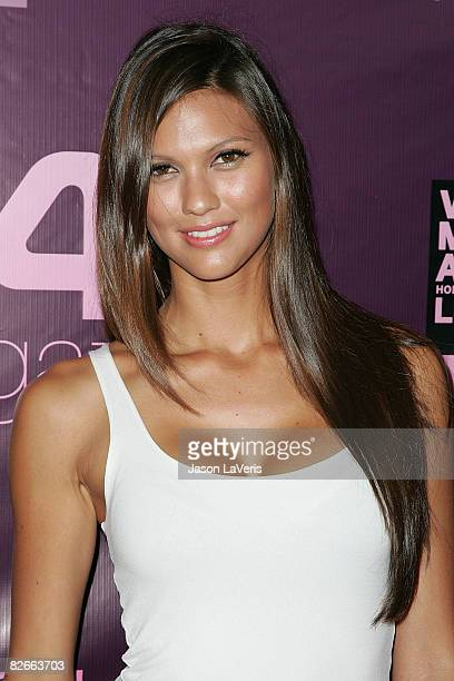Megan Abrigo attends 944 Magazine's official 2008 MTV Video Music Awards Kickoff Party at The Kress on September 2008 in Hollywood California