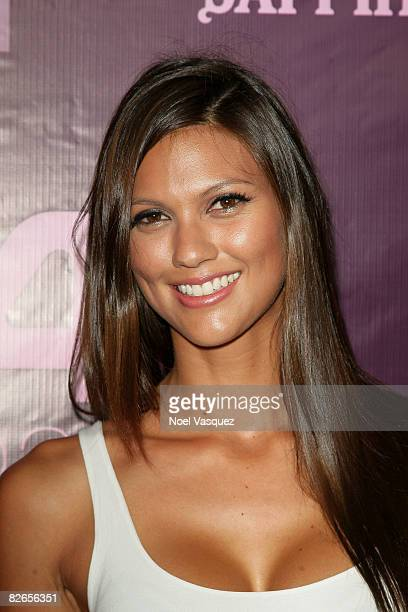 Megan Abrigo attends the 944 LA 2Year Anniversary at the The Kress on September 3 2008 in Los Angeles California