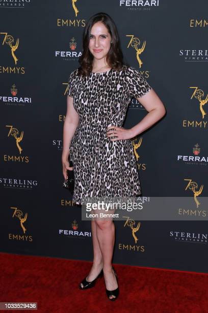 Megan Amram attends the Television Academy Honors Emmy Nominated Producers at Montage Beverly Hills on September 14 2018 in Beverly Hills California