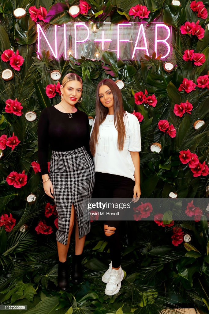 GBR: Megan Barton Hanson & Kendall Rae Knight Attend Nip+Fab Beauty & Tan Launch